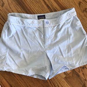 PATAGONIA Board Shorts /Athletic Shorts Light Blue